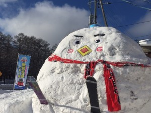 雪像(づなっちに見えるかな)