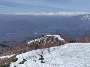中社登山道